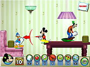 Mickey and Friends in pillow fight internetes játékok ingyen